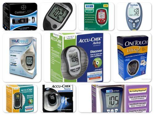 các loại máy đo đường huyết